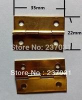 1.5 inch hinge / hinge wooden wine boxes / yellow small hinge / 35 * 22MM hinge