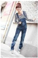 Newest Plus Size XXXL 4XL Women's Overalls Jeans pants/Fashion Ladies' Denim Jumpsuits/Female suspenders/Large Big Size Trousers