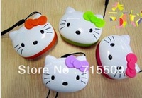 free ship cat head mini speaker support TF card