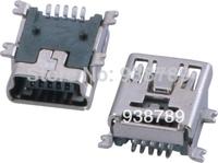 MINI USB 5P FEMALE SMT TYPE