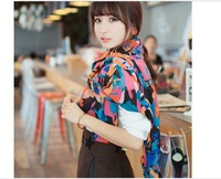 High Quality 3pcs/lot chiffon scarf women Fast Shipping Big Size Scarf