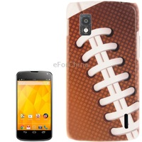 2 pcs/ a lot Sneakers Pattern Plastic Protective Case for LG Nexus 4 / E960