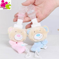 Baby Care supplies cartoon bear baby appease bottle Pacifier clip sanitary silicone bite glue teethers chain Free shipping