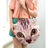 2013 hand bag gift shoulder women's handbag cat dog bag mj vintage handbag fashion cross-body PU material 7 colors