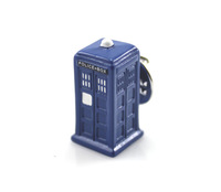 Doctor Who Tardis 3D Metal Brooch Blue Police Phone Box Science Fiction Souvenir Fans Collection Gallifrey Gift FREE shipping