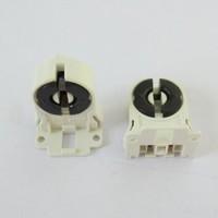 Free Shipping .20pcs/lot.T8 lamp holder T8 aging lampholders T10 fluorescent lamp holder Aging T8 lamp holder