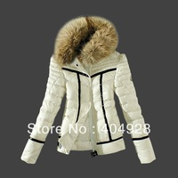 3006# 2013 New wholesale & retail top quality women's Winter Down jacket,   feather fashion short coat