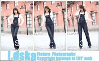 New Fashion XXXL Women's Overalls Jeans Gallus/Ladies' Denim Jumpsuits Rompers/Female suspender/braces pants long trouser