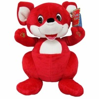 Free shipping Voice fairy red kangaroo pre-teaching xf-t-a3 red kangaroo birthday gift language machine