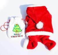 Chrismas Red fashion dog clothing fashion Santa Claus Cinderella outfit,Christmas pet clothes #90144