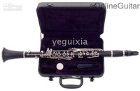 China famous brand Beautiful black silver keys clarinet JINBAO