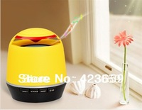 Tmusik R10 Mini NFC Wireless Bluetooth Speaker with FM Radio & TF Card Reader (Yellow)