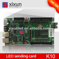 P8/P10 outdoor advertising led sign sending card