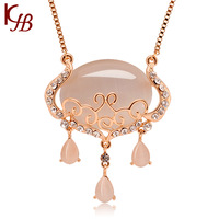 New hot sailing Free Shipping Fashion wholesale girl golden pendant Necklace jewelry palace
