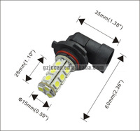 Freeshipping   H12 5050 18-SMD 3.6w 360lm 12V/24V 7000K fog lights