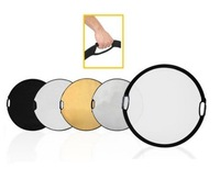 """Fotografia Wholesales 110cm 5 In 1 43"""" Photography Photo Portable Grip Reflector 5in1 Circular Collapsible Multi Disc R 30200221"""