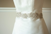 Luxurious New Fashion Wedding Dress Sash Belt With Pearl Crystal Wedding Dress Sash Belt Bridal Sashes Crystal Shine Beaded