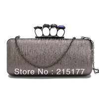 2013 hot sale J002 Colored diamonds CLUTCHES evening bags