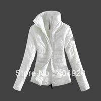 3034# 2013 New wholesale & retail top quality women's Winter durk Down jacket,   feather fashion With Fur Collar