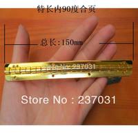 150 * 9MM long hinge / metal hinge / within 90 degrees position hinge / hinge yellow wooden gift box