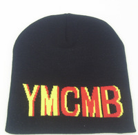 Han edition qiu dong latest knitting hat street hipster hip-hop YMCMB baotou fashionable men and women set of head cap