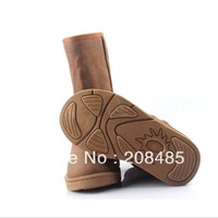 Free shipping Winter Thicken Short Plush Snow Boots Shoes For Women Orange Coffee color