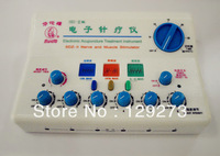 HuaTuo Electronic Acupuncture Equipment 6 Channels Output Nerve and Muscle Stimulator (110V or 220V)