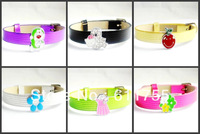 Free Shipping 2013 Fashion Jewelry 3pcs Leather Square Bracelet ,Charm Bracelet,Personalized Bracelet