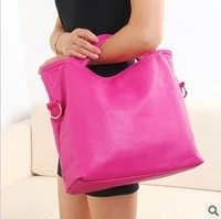 2013 Women bag vintage fashion casual fashion handbag women bags color block cross-body PU