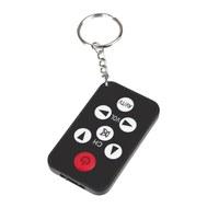 1Pcs Mini Universal Infrared IR TV Set Remote Control Keychain Key Ring 7 Keys New Hot Selling