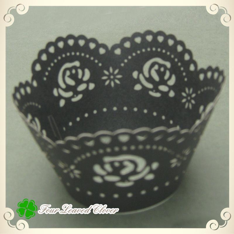 wholesale 50pcs black rose cheap cake decorating supplies cake