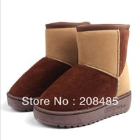 Winter thermal snow boots waterproof Women boots flat cotton-padded shoes female snow boots