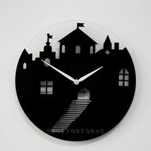 cheap wall clock art