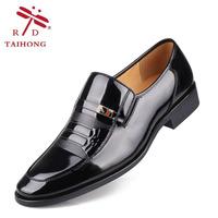 Male formal leather wear-resistant foot wrapping business casual leather shoes leather shoes