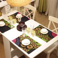 Pat Mat Heat Insulation Free Shipping Fashion Double Layer Fabric Mat Coasters Table Mat Heat Insulation Pad Placemat