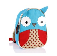 Animal style child anti-lost baby toddler bag backpack kindergarten small school bag owl