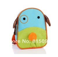 Animal style child backpack kindergarten small school bag anti-lost double-shoulder baby backpack