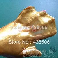 New 2013 3 pairs/lot Gold moisturizing glove, collagen gloves, hand whitening moisturizing care Crystal Glove
