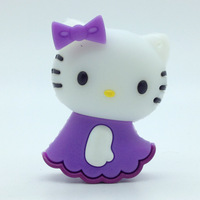 Bulk pen drive cartoon hello kitty animal gift 4gb 8gb 16gb 32gb 64gb usb flash drive pendrive free shipping