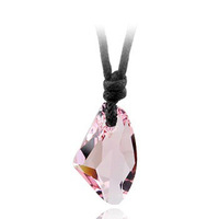 Free Shipping brand new very high quality wax rope luxury best wish crystal women necklace fashion