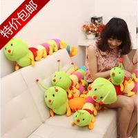 Colorful caterpillars  doll plush toys