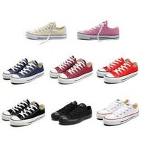 size 35-44 Hot 2013 new fashion unisex low men women sneakers for women sneakers for men and canvas shoes #Y30043