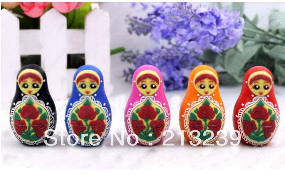 Free/Drop Shipping/Christmas Gifts wholesales Cartoon Russia Dolls (Beauty girl) model usb 2.0 memory flash stick pen thumbdrive(China (Mainland))