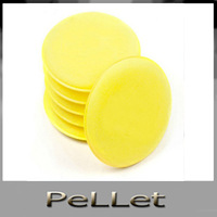 Free Shipping 12 Polish Round car cleaning wash sponge / sponge wax