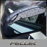 2 Car Rain Shield Rear View Side Mirror Rain Shield Shower Blocker Cover Sun Visor Shade Guard Free Shipping