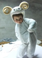 2013 child adult animal costume fashion sheep family one piece clothing