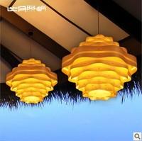 T8 Lighting Southeast Asian Chinese restaurant lights rotunda veneer living room chandelier 3125