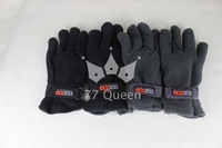 [77 Queen] Winter fashion men's and women's Polar fleece warm gloves Polar fleece warm climbing riding gloves