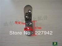 Trumpeter rectangular stainless steel angle iron bracket yards Furniture Hardware