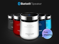 2014 New Arrival NogoB6500 Bluetooth Speaker Portable Wireless HiFi  With FM Radio Support TF Card Outdoor Speaker Free Shipping